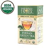 Pride Of India - Organic Green Tea, 25 Tea Bags
