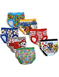 Little Boys' Toddler Paw Patrol Brief, Pack of Seven