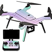 MightySkins Protective Vinyl Skin Decal for 3DR Solo Drone Quadcopter wrap cover sticker skins Cotton Candy