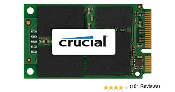 Crucial CT256M4SSD3 - Disco Duro Interno de 256 GB, mSATA: Amazon ...