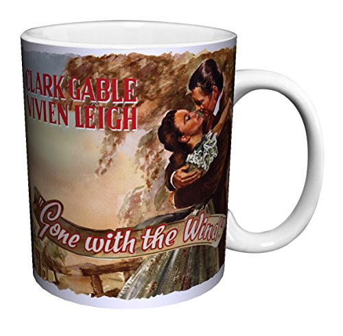 - Gone with the Wind Vintage Classic Hollywood Romance Movie Film Ceramic Gift Coffee (Tea, Cocoa) 11 Oz. Mug