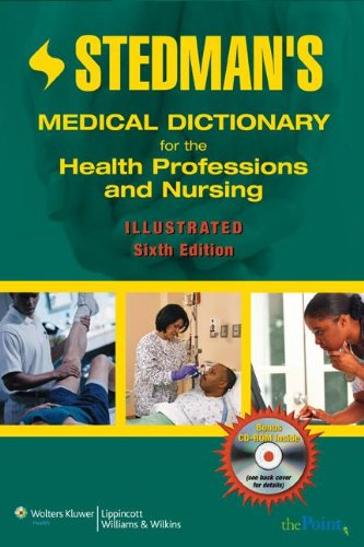 Stedman's Medical Dictionary for the Health Professions & Nursing (6th, 07) by Piper, Tiffany [Paperback (2008)] PDF