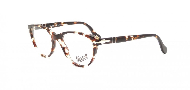 ac90161c61 PERSOL Eyeglasses PO 3036V 985 Tobacco Virginia 50MM  Amazon.co.uk  Clothing