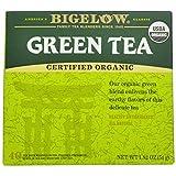 Bigelow Organic Green Tea, 40-Count Boxes (Pack of 6)