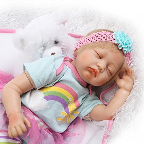 Buy Funny House Funny House 55cm 22 Reborn Sleeping Baby Doll Girl Realistic Real Looking Reborn Baby Dolls Lifelik Online At Low Prices In India Amazon In