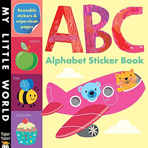 Airplane Alphabet Book - ABC Alphabet Sticker Book (My Little World)