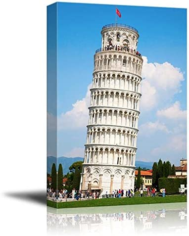 Famous Lankmark Leaning Tower of Pisa Tuscany Italy