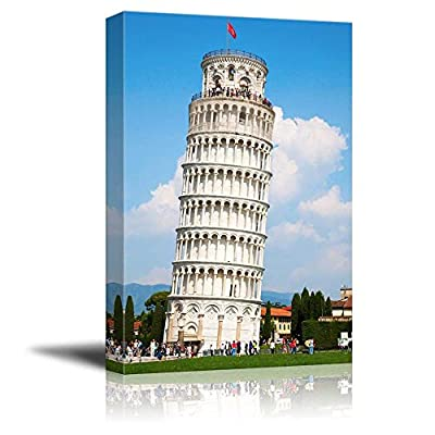 Famous Lankmark Leaning Tower of Pisa Tuscany Italy, With Expert Quality, Alluring Portrait