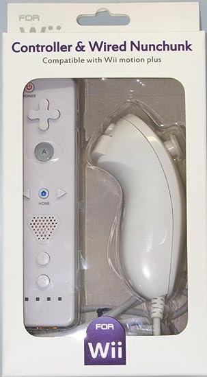 SATKIT Pack Mando Wii Remote con Wiimotionplus incorporado + ...