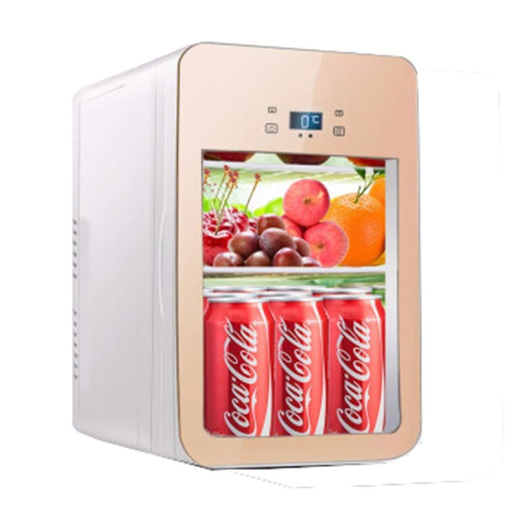 WYFDM 22L Mini refrigerador para Autos Casa portátil de Doble Uso ...