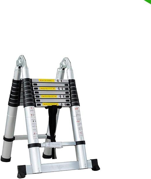 Escalera Telescópica Portátil - Extensión Extensible De Aluminio ...