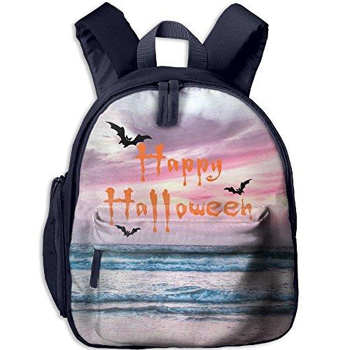 Baby Boys Girls Toddler Happy Halloween Pre School Shoulder School Bag (Forest School Halloween Activities)