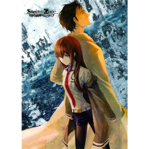 Monty Arts Steins Gate Poster by Silk Printing # Size about (60cm x 84cm, 24inch x 34inch) # Unique Gift # 18E3C5