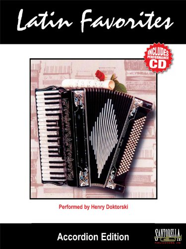 (Latin Favorites, Accordion Edition (Book & CD) (English and Spanish Edition))