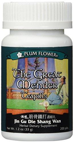 The Great Mender Teapills (Jin Gu Die Shang Wan) 200 pills (Pills Teapills 200)