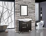 Single Sink Bathroom Vanity Set MTD Vanities Peru-36 Peru Single Sink Bathroom Vanity Set, 36