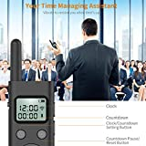 """Doosl Presentation Remote, Big Size 7"""" Professional Wireless Presenter Clicker with Green Light & LCD Display,1000ft Long Range/Rechargeable/Hyperlink for Conference Lecture Training Speech"""