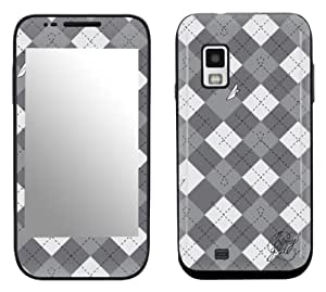 Zing Revolution MS-BG10274 Benny Gold - Argyle Cell Phone Cover Skin for Samsung Fascinate Galaxy S (SCH-I500)