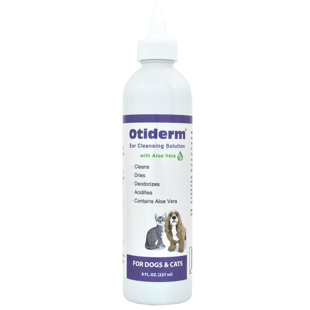HealthyPets Otiderm Ear Cleanser for Dogs & Cats, 8 fl. oz. Inc. OTIDERM8