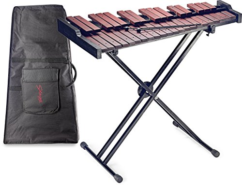 Stagg XYLO-SET 37 37-Key Xylophone with Mallets and Stand by Stagg