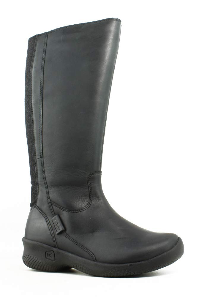 KEEN Women's Baby Bern Ii Tall-w Rain Boot, Black, 5 M US by KEEN (Image #1)