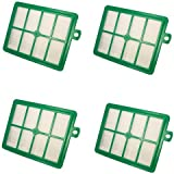 HQRP Filter 4-Pack for Electrolux EL012B S-Filter Replacement 1130939-01 113093901 9001954123 9002564053 1130032012 1130032038 1130232018 1130684010 9001951202 Vac Vacuum Cleaner + HQRP Coaster
