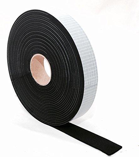 Longueur/: 10 m En caoutchouc mousse Qualit/é sup/érieure Ruban d/étanch/éit/é de caoutchouc EPDM /Épaisseur/: 1 /à 6 mm Cellulose autocollante noir Largeur/: 5 mm /à 70 mm