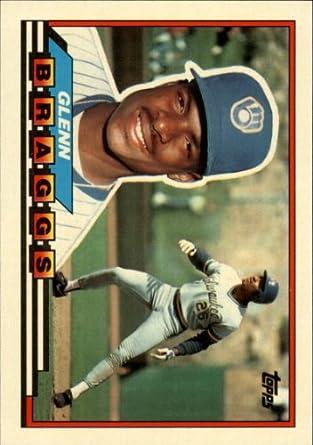 Amazoncom 1989 Topps Big Baseball Card 204 Glenn Braggs