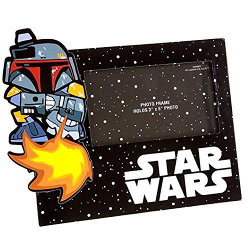 Disney Star Wars Boba Fett 3x5 Photo Frame