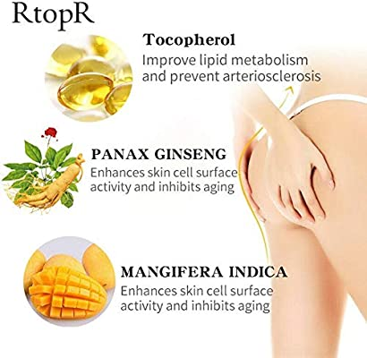 Gracefulvara Buttocks Plumping Cream, Plumping Lotion Enlargement Enhancement Lifting Firming Body Cream Increase Buttocks Volume Improve Shape