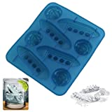 BCHZ Silicone Ice Cube Trays Molds Carving Titanic Shaped Mold Maker Mould For Party Drinks
