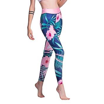 XYACM Pantalones de Yoga Ropa Mujeres Leggings de Fitness ...