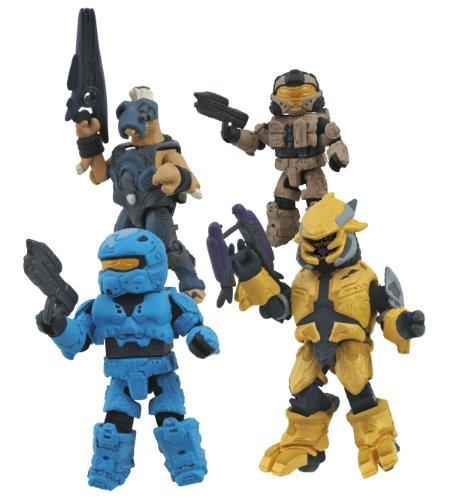 DIAMOND SELECT TOYS Halo Minimates Series 3 Box Set (Halo Reach Best Sniper Armor)