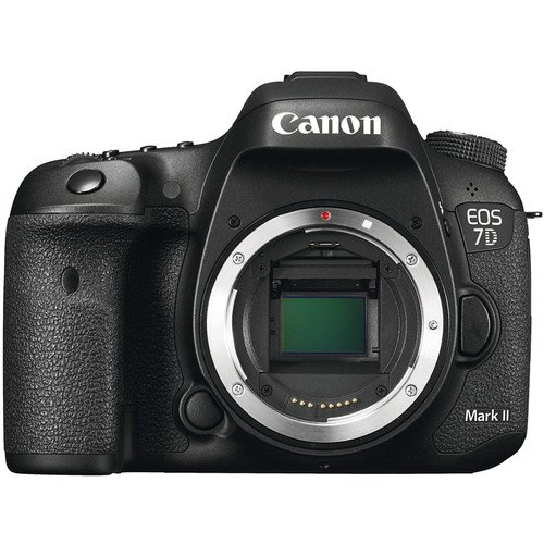 Canon EOS 7D Mark II DSLR Camera w/ EF-S 18-55mm f/3.5-5.6 IS STM Lens + Professional Accessory Bundle