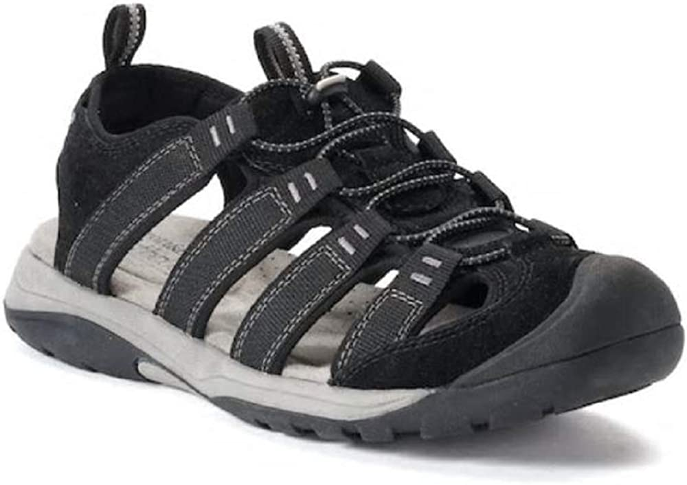 Croft /& Barrow Legato Mens Ortholite Fisherman Sandals