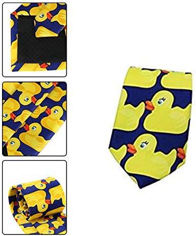 Gespout 1 Artículo Corbatito de Pato Amarillo Corbata de Traje de ...