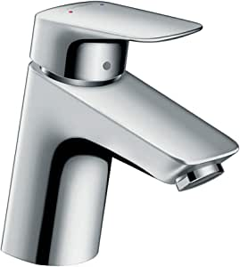 Hansgrohe 71077000 Logis grifo de lavabo 70 con vaciador Push-Open ...