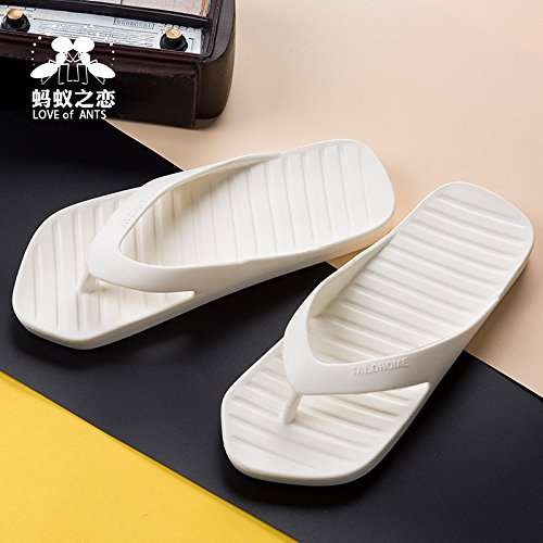 Infradito Hong Of 40 Street yellow Pantofole Antinfortunistiche Coppie Jia Tinta Estate White Out Scarpe The 41 41 Antiscivolo Unita Trend 40 SvHdqB0x