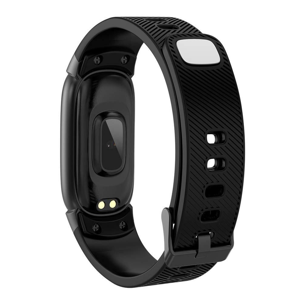 LUXISDE Fitness Bracelet Smartwatch Ladies, Activity Tracker QW16 Smart Watch Sport Fitness Activity Heart Rate Tracker Blood Pressure Watch by LUXISDE (Image #3)