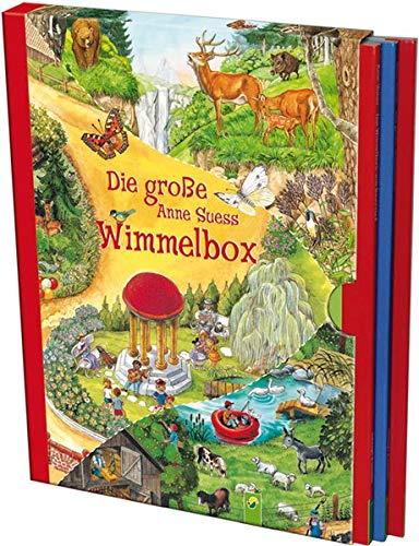 Die Große Anne Suess Wimmelbox  3 Wimmelbücher Im Schuber