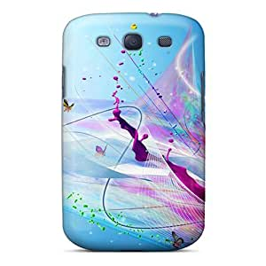 New Arrival Case Cover With SPwRfZC4104TnvKj Design For Galaxy S3- D Graphics Abstract Design And Butterflies by icecream design