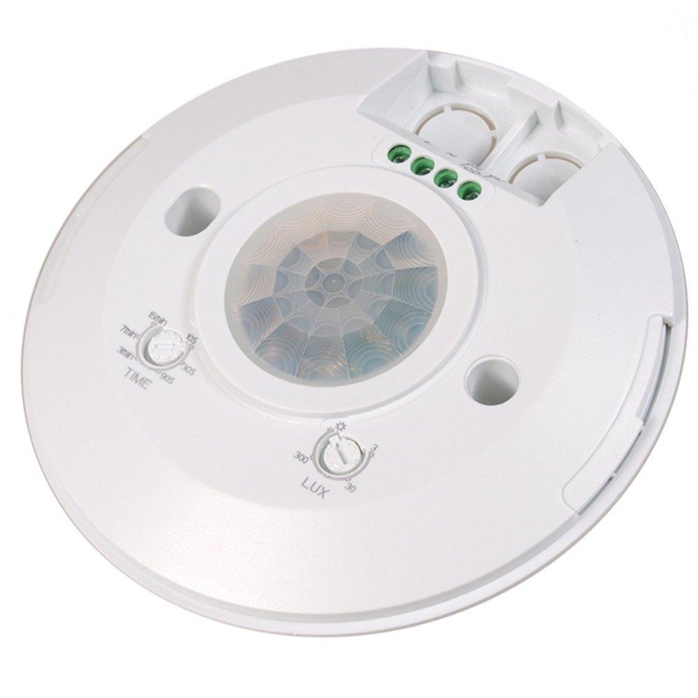 Maclean - Mce85 - Detector de Presencia con Sensor crepuscular y Temporizador: Amazon.es: Informática