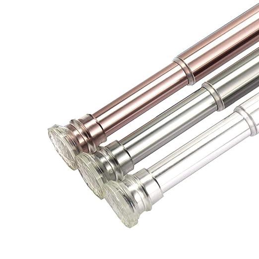 YYLLGAN barra de ducha extensible telescópica de acero ...