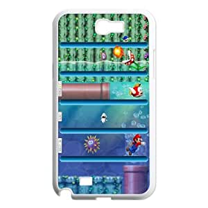 Mario Shelves Samsung Galaxy N2 7100 Cell Phone Case White phone component RT_250311