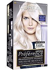 L'Oréal Paris A84404 Preference Coloration Island, 11.11, bardzo jasny, chłodny blond, trójpak (3 x 1 sztuka)