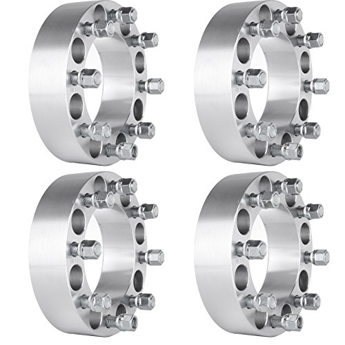 """ECCPP Replacement for Wheel Spacers 8 Lug 2"""" 4X 8x6.5 / 8x165.1 for Dodge Ram 2500 3500"""
