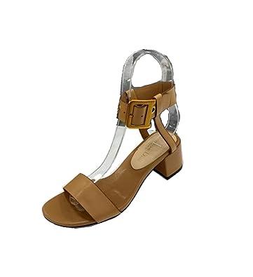 47972f34a6e Amazon.com   Womens Sandal Shoes Brown D-Dior Calfskin Leather ...