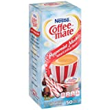 Coffee Mate Peppermint Mocha Liquid Coffee Creamer, 18.7 Fluid Ounce - 4 per case.