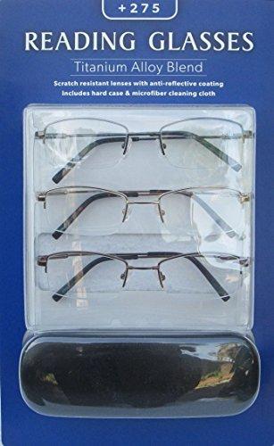 Reading Glasses Titanium Alloy Blend +150 ()