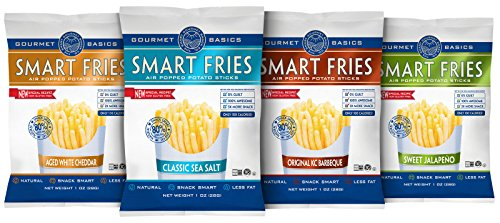 Gourmet Basics Smart Fries 4-Flavor Variety Pack, 24 Count